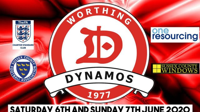 Worthing Dynamos Small Sided Tournament 2020 - 6th and 7th June