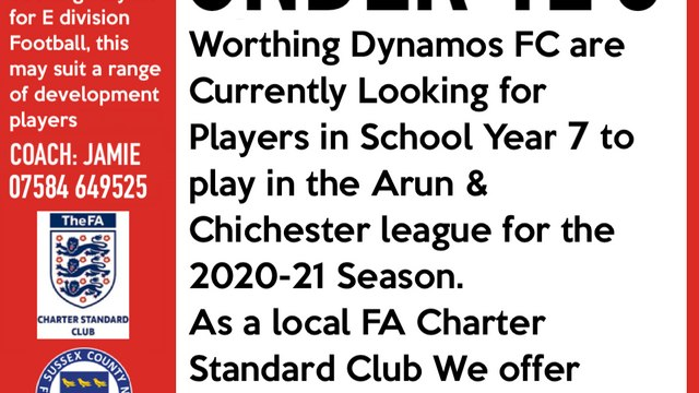 PLAYERS REQUIRED! our Under 12 Blue team are seeking players in School year 7