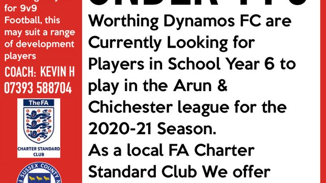 PLAYERS REQUIRED! our Under 11 White team are seeking players in School year 6