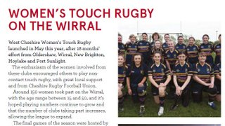 Women's Touch Rugby on the Wirral