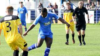 Glossop dumped out of the cup