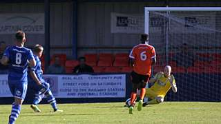 Glossop earn point away from home