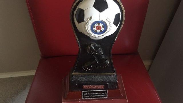 U10 Tigers Win NEHYL Fair Play Award
