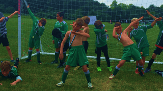 U8s turn up the heat at home tournament