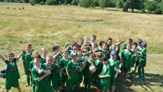 Aylesbury's legendary u9s end season in style and wish England Good Luck