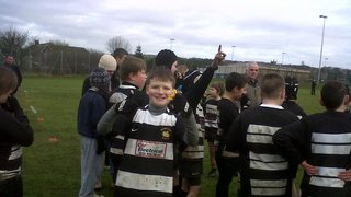 Houghton U11's v West Hartlepool U11's 12th Feb. 2012