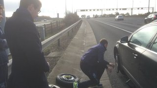 A tyresome weekend for British drivers