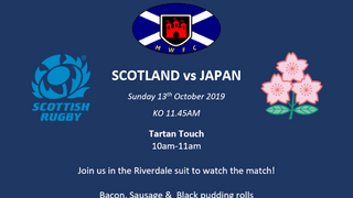 Scotland vs Japan