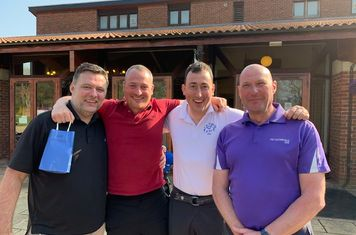 2019 Team Winners (Andy Clarkson, Will Moore, Dave Moore & Ian Larter)