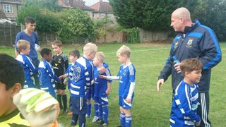 Under-8s take on London opposition