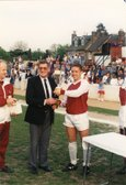 East Thurrock fixture. Club to celebrate 1989 title winning anniversary