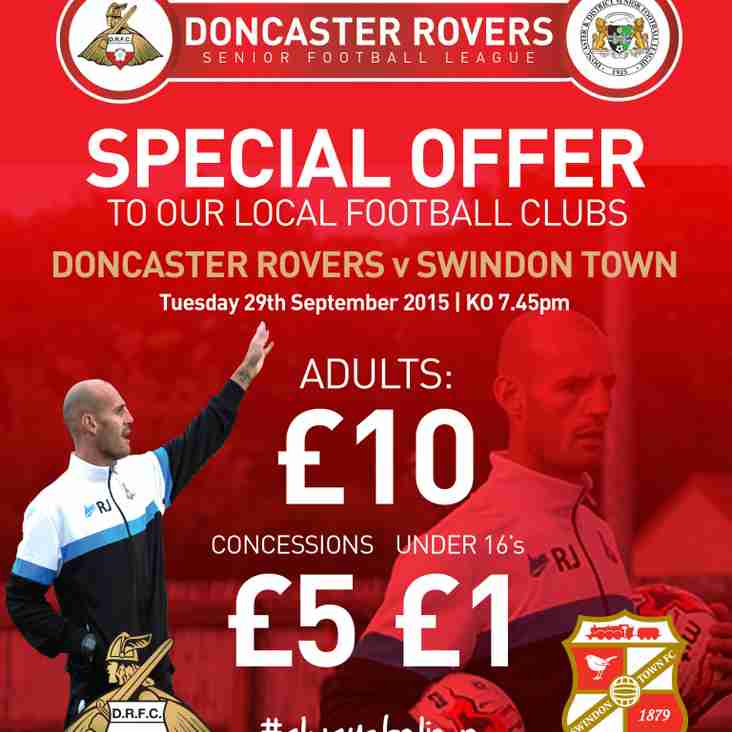 Ticket Offer For All Local Football Clubs