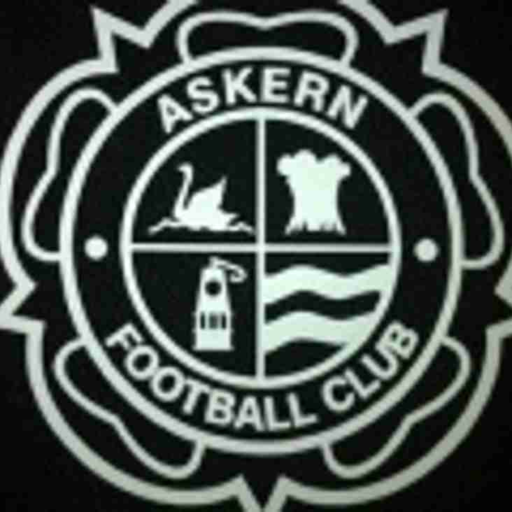 Congratulations Askern FC Division One Champions 2015/16