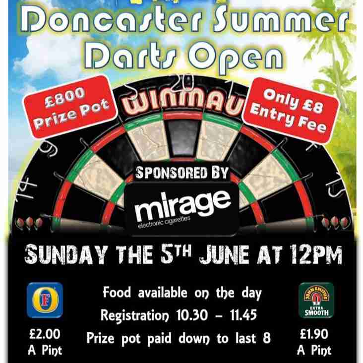 Darts in Donny Division One Cup Final