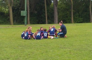 Team talk before the Plate match