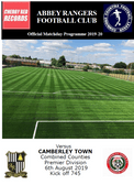 Abbey Rangers v Camberley Town