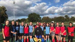 Aylesbury & Thame U14 girls  v A & C U14 girls