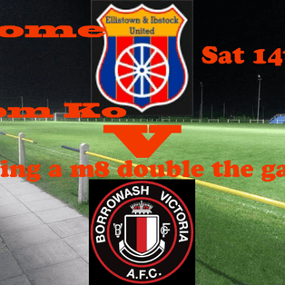 Ellistown & Ibstock FC v Borrowash Victoria AFC Match Report