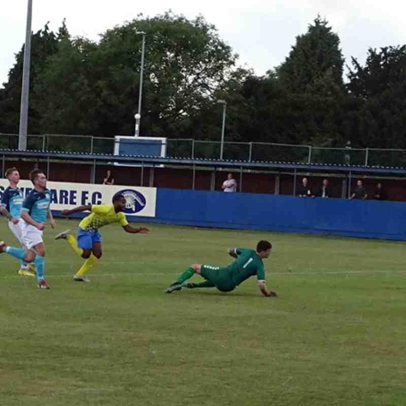 Gedling MWFC  Vs Birstall United Social FC