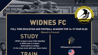 Widnes Academy Winter Trials