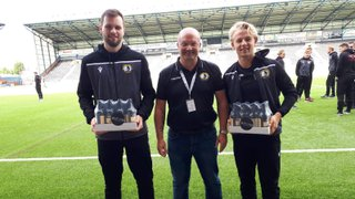 Hodkinson and Shaw scoop Player of the Month awards