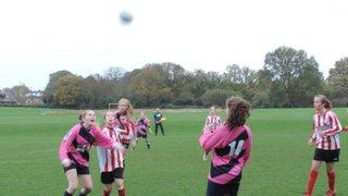 U14s v Southampton Saints Girls and Ladies U13 - 14th November 2015