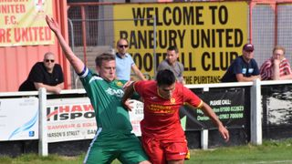 Match report –  Banbury Utd 0 Hitchin Town 0