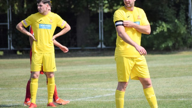 United entertain Daventry Behind Closed Doors tomorrow (Saturday)