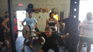 1st Team Gym Session at the Battle Axe