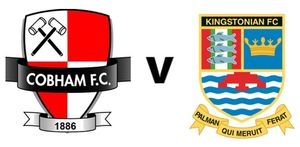 Don't miss it! Cobham FC welcomes Kingstonian FC this coming Tuesday evening