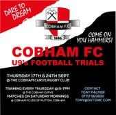 COBHAM FC U9 TRIALS