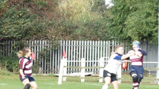 Ladies V Rugby Oct15