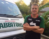 ARMY RUGBY LEAGUE VETS FOUNDER SECURES JOB WITH SOUTH SYDNEY RABBITOHS