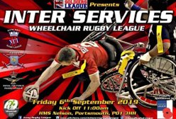 Soldiers League Charity Launch The Inaugural Inter Services Wheelchair Rugby League.