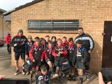 U12's bring home the trophy at the county festival