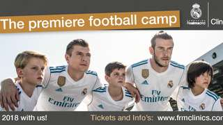 The Real Madrid Camp will return to AFC Corsham next Summer!