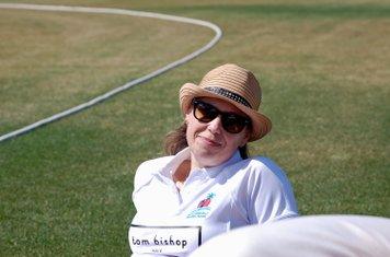 Scorer and team mum, Jenny