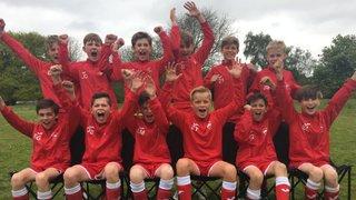 U12s Blue Win League title