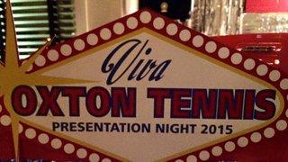 Tennis Presentation Night