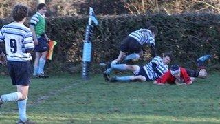 Hampshire Under 15's at Fordingbridge