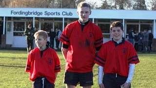 U15s Hampshire vs Sussex at Fordingbridge