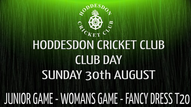 Hoddesdon CC Club Day