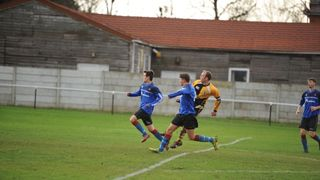 Hesketh Bank AFC v Wyre Villa FC 21/12/13