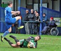 Last Saturday's league match at Charnock Richard