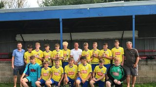 Champions - Carterton U15s win the Oxford A league for the second season running