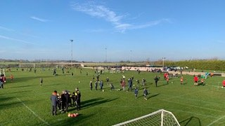 Carterton FC hosts another great day of football for the U8s Witney  & District tournament