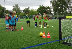 Mini soccer every Saturday morning (March - August 2019) supported by Oxfordshire FA