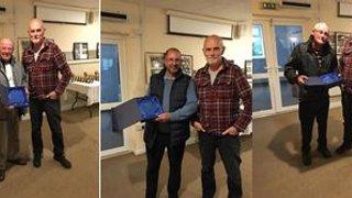 Long term service awards for Carterton FC legends