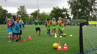 Mini soccer at Carterton FC takes place every Saturday morning 9.30am to 10.30am