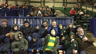 Minis Section Supporting OURFC vs Army